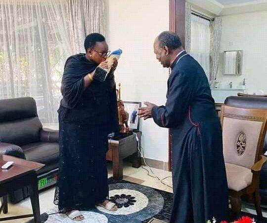 Kadinali Pengo amtembelea Mama Janet Magufuli