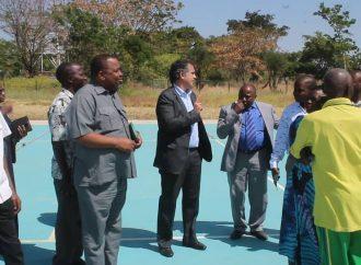 Intrenational Promotion Through   Sports yatembelea Chuo cha Malya