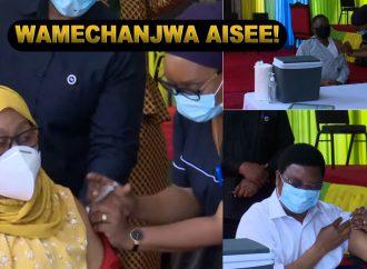 LEO Rais Samia Suluhu Hassan amechoma chanjo ya COVID 19.